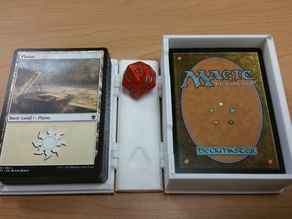 MTG - Magic the Gathering 75 Card Box and Magic the Gathering 100 Card Sleeved Box