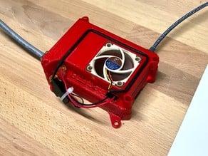Raspberry PI 4 Case for 40mm fan