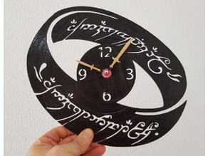 Reloj vinilo The Lord of the Rings