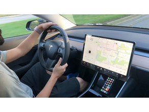 Wireless Qi Charger for Tesla Model 3