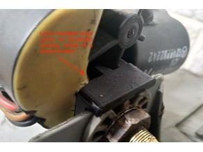W124 Headlight Wiper Motor Shaft Lock