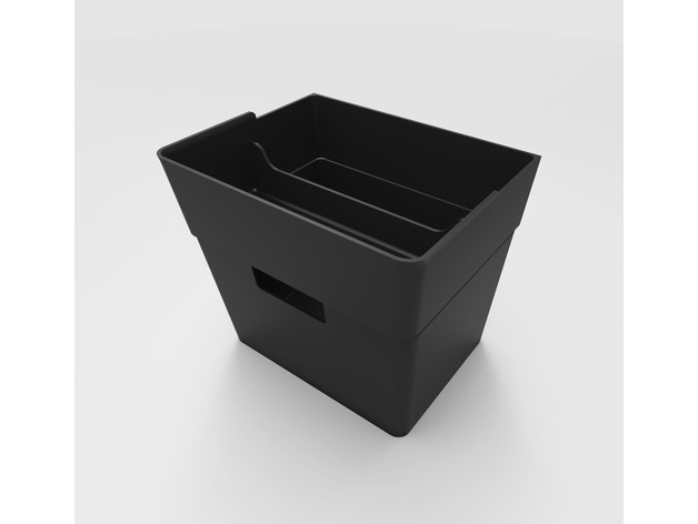 Tesla Model 3 >> Tesla Model 3 Center Console Trash and Storage Bin by ...