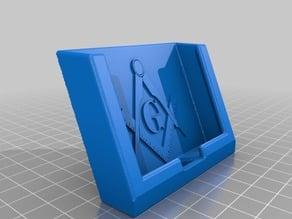 Masonic Phone Stand