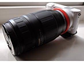 Minolta AF to Samsung NX (With aperture control)