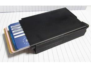 Secrid money box, sliding, no rubber band required