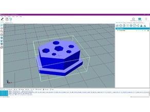 Mini Screwdown Metric Hex Holder 2, 2.5, 3, 4, 5 mm