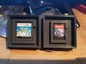 Modular DS Cartridge Display Vault