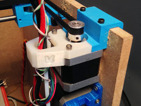 Bowden and cables guide for SmartrapCore with geared extruder