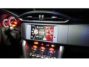 Nexus7 Center Console Adapter (LHD) for Toyota GT86/Scion FR-S/Subaru BRZ