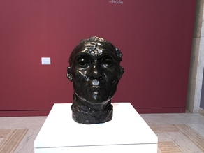 Monumental Head of Jean d'Aire, Rodin, Portland Art Museum