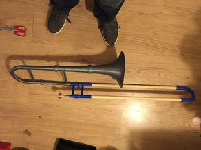The PrintBone: a fully printable playable trombone