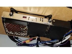 Mean Well LRS-350 PSU Lids for 92mm Noctua Slim Fan