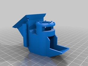 Frankenstein Extruder 40mm Cooling Duct