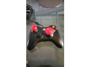 XBox 360 controller analog stick caps