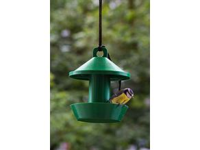 Hanging Bird House / Food Dispenser