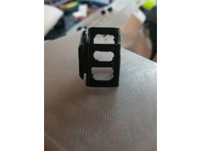 Nano-Tech 300mah & GNB 450mah battery holder for Mobula7