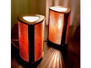 Trigon Slotted Lamp