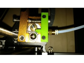 flexible filament guide for MK8 Extruder