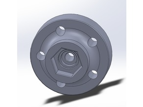 Clod Buster Wheel adapters for Axial Wraith and similar