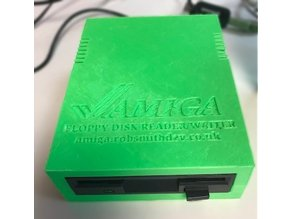 Arduino Amiga Floppy Drive Reader/Writer Enclosure
