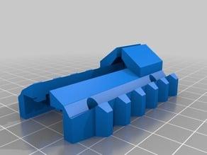 NERF Recon mk II front bottom picatinny rail