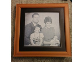 Lithophane Picture Frame Set