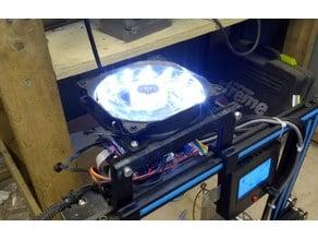 120mm fan 2020 mount