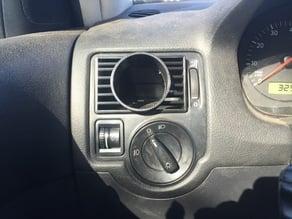 VW MKIV Vent gauge pod