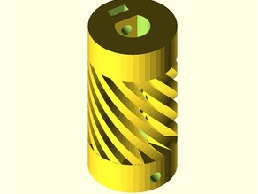 Parametric Flexible Coupling