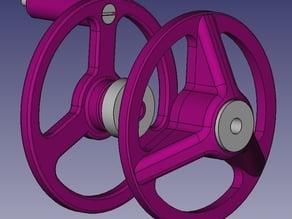 Spool holder for M6 (K8200 / 3Drag)