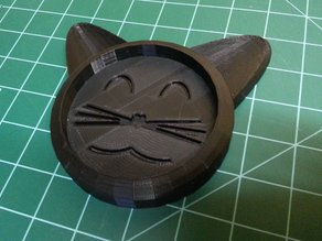 Happy Cat Coaster