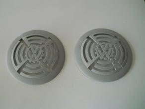 VW speaker cog grill