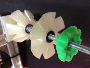 Filament coil holder for K8200