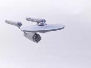 Enterprise 1701 Modular Snap-Fit Model