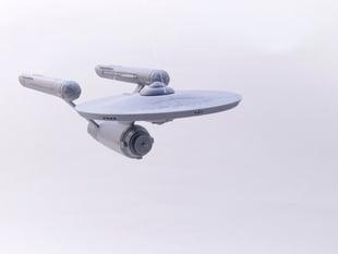 Enterprise 1701 Modular Snap-Fit Model
