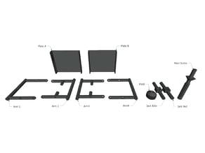 Platform Jack Parts SketchUp