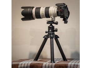 "The ""Bri-Pod"", DIY Carbon Fiber Tripod"