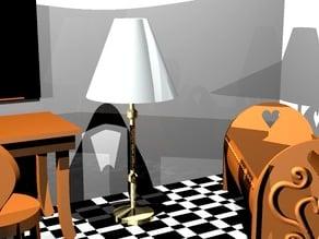 floor lamp for doll's house