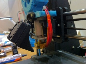 40mm extruder cooling fan for Graber I3