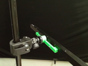 Camera Mount for Tobii EyeX Eye Gaze Device