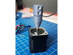Static coupling z-axis / tight fit / anti z-wobble