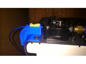 MP Select Mini filament guide and filter combo