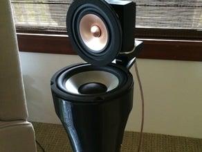 Hifi Speakers Based on the Linkwitz Labs LX Mini