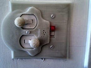 SKULLY - Wall Plate switch outlet