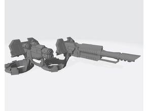Interstellar Army - Pounder Pintle Weapons