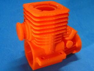 Nitro RC Car Engine Block