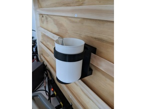 French Cleat Mount Utility Cup Holder