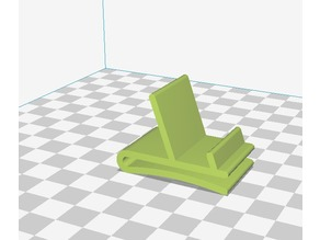 Simple phone stand with clip