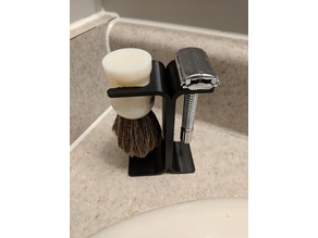 Razor & Brush Holder