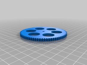 My Customized (parametric) gear (regular #2)